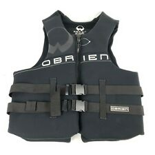 "Obrien Life Vest Black XXL Adult  USCG Approved 48"" to 52"" Chest"