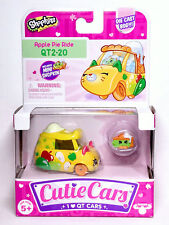 Shopkins Cutie Cars QT2-20 Apple Pie Ride Series 2 New
