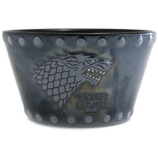 Game of Thrones Large House Stark Stud Relief Ceramic Bowl