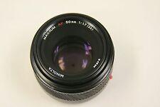 Minolta Sony Maxxum 50mm f1.7 lens  minolta maxxum 50mm af lens