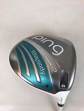 *NICE* Ladies PING Rhapsody Driver 12° Ping ULT220 Ultra Lite Graphite (6866)