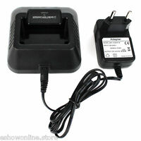 Li-ion Two Way Radio Battery Charger 100-240v for Baofeng BF-UV5R Walkie Talkie