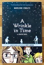A WRINKLE IN TIME Graphic Novel Madeleine L'Engle & Hope Larson 2012 EXC L1