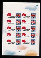 Gb 10x 1stClass 2013 Australia Centenary Kangaroo Red White Blue Smiler Generic
