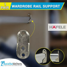 1 set wardrobe rail support 20mm wide suitable for oval rail