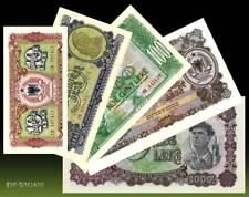 ALBANIA 1957 - SET - BANKNOTES - UNC