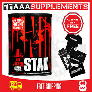 UNIVERSAL NUTRITION -  ANIMAL STAK | ANABOLIC BOOST | HIGH STRENGTH TEST BOOSTER