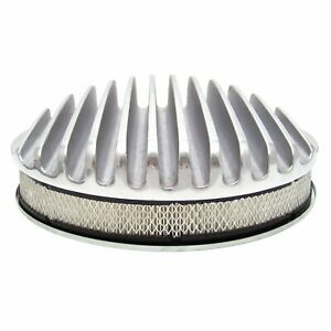Sand-Cast Street Rod Air Cleaner for BBC SBC Chevy Motor Big Small Block 350 327