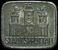 NOTGELD: 10 Pfennig 1918. Funck 515.1. STADT SPROTTAU / SCHLESIEN ⇒ SZPROTAWA.