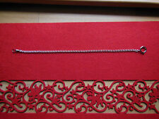 Catena per Orologio da tasca Collana 35 cm nuovo , Ottone nichelato