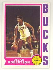 1974-75 TOPPS BASKETBALL OSCAR ROBERTSON CARD #55 NM-NMMT NO CREASES (494)