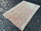 Bohemian rug, Area rug, Turkish rug, Vintage, Handmade, Wool rug | 5,0 x 7,2 ft