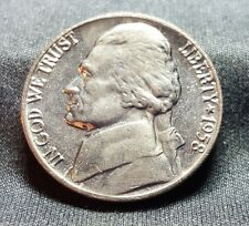 1958 P Jefferson Nickel, Brilliant Uncirculated, Low Mintage 17.9 Mil, Ship Free