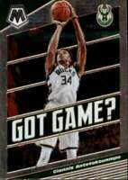 2019-20 Panini Mosaic Got Game? #25 Giannis Antetokounmpo NM-MT Bucks ID:42955
