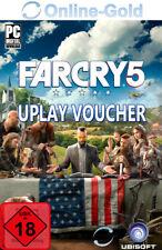 Far Cry 5 Uplay Voucher Key - PC Ubisoft Spiel Key Digital Download Code - [EU]