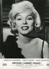 MARILYN MONROE SOME LIKE IT HOT 1959 VINTAGE PHOTO ORIGINAL