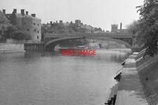 PHOTO  1970 YORK LENDAL BRIDGE FROM THE GARDENS