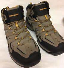 NEW Skechers Mens Morsen Gelson Leather Ankle Boots Memory Foam Sz 10.5 M