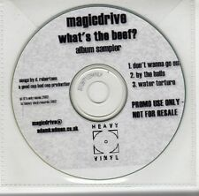 (GJ298) Magicdrive, What's The Beef? - 2002 DJ CD
