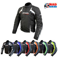 ARMR Eyoshi Waterproof Sports Urban Motorcycle Motorbike Textile Bike Jacket