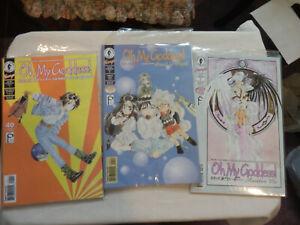 OH MY GODDESS! Part X Issues 1-5  KOSUKE FUJISHIMA 1994 Dark Horse Comics