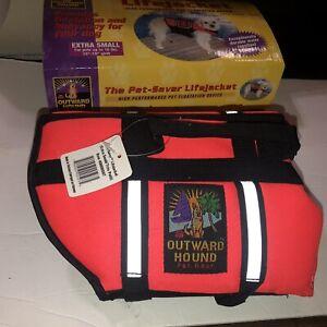 Outward Hound High Performance Flotation Life Jacket, Orange, X-Small Up 18 Lbs