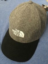 NORTH FACE UNISEX MARINTAM WOOL GREY BLACK WHITE LOGO BALL Winter Baseball HAT