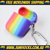 Rainbow Airpod Case - Apple, Gay, Pride, Bright *FREE WORLDWIDE SHIPPING*