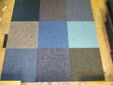 More details for 20 x mixed colors carpet tiles 5m2 heavy duty commercial premium flooring random