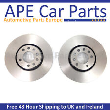Vauxhall Corsa E 1.6 VXR Performance Pack 05/2015- Front Plain Brake Discs 330mm