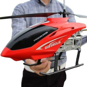 RC Helicopter 3.5CH 80cm Large Remote Control Anti-Fall Aircraft RC Drone Toy