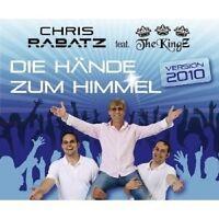 "CHRIS RABATZ FEAT THE KINGZ ""DIE HÄNDE.."" CD SINGLE NEU"