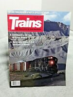 Trains Magazine Of Railroading July 1991