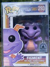 Epcot 35 - Figment #293 Disney Parks Exclusive Funko Pop Vinyl +PTROTECTOR
