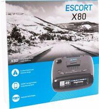 Escort - X80 Radar Detector Black 0150018-4 Voice Alerts Bracket Included