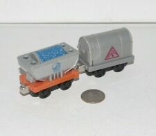 Thomas Friends Train Tank Take n Play Along BMQ Quarry & Dynamite Car Lot x2