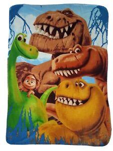 "The Good Dinosaur Fleece Throw Blanket 36""x 52"" Spot Arlo Ramsey Nash"