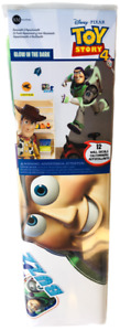 Disney Toy Story Glow In The Dark Buzz Lightyear Self-Stick Room Wall Appliques