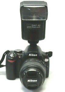 Nikon D 60 Digital Spiegelreflex Kamera  Kompl. Set