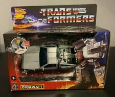 IN HAND NEW Transformers Back to the Future 35 Edition Mash-Up Gigawatt Hasbro