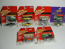 LOT OF 6 JOHNNY LIGHTNING CLASSIC GOLD, AUTHENTIC DIE CAST,