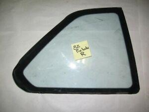 88-91 Honda Prelude OEM rear Right passenger side corner quarter window glass