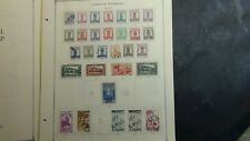 Morocco stamp collection on Scott Int'l pages w/ est # 305 or so to '79