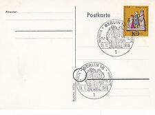 Postal de Navidad Berlín 1969 FDC sin usar en muy buena condición