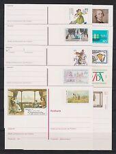 Briefmarken-Ganzsachenaus der BRD aus Bundesrepublik mit Postfrisch