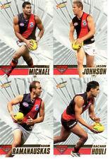 2008 Select AFL Classic Trading Card Base Card Team Set Essendon (10)