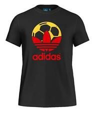 MED  adidas Originals Men's  SPAIN COUNTRY FUTBOL SOCCER TEE F80634  BLK  LAST1