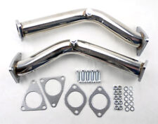 Test Pipes Decat Catless Non Reso Downpipe Exhaust FITS Nissan 370z Infiniti G37