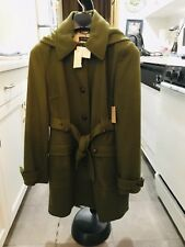 3628bd72fa6 JCrew Loden Green Toggle Duffle Coat With Self Belt
