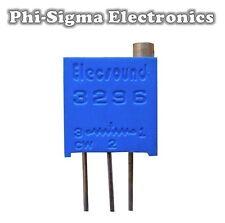 2x Piher Trimmer Potentiometer Vertical Screw Adj PT15 5K Var Resistor Preset